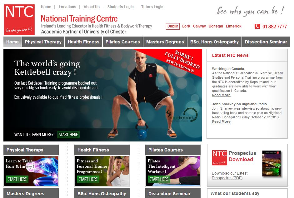 More Online Leads for NTC.ie
