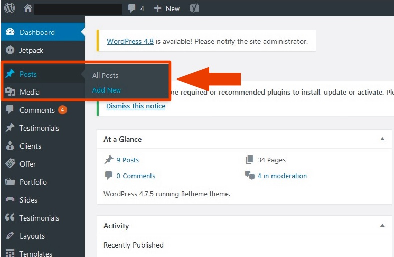 How To Add A New Post On Your WordPress Blog